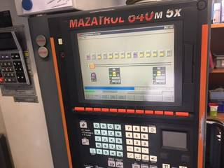 Mazak Variaxis 500 5X - Production line 2 machines / 14 pallets, Fräsmaschine Bj.  2005-4