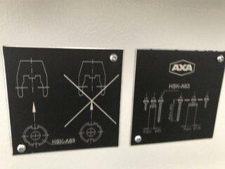 AXA VSC 3 XTS, Fräsmaschine Bj.  2007-10