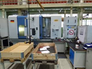Axa DBZ, Fräsmaschine Bj.  2005-4