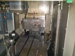 Fräsmaschine Chiron FZ 15 KS Highspeed-1