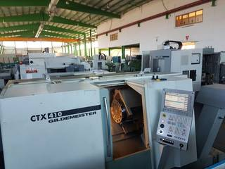 Drehmaschine DMG CTX 410 V3-0