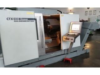 Drehmaschine DMG CTX 420 linear-5