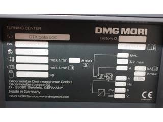 Drehmaschine DMG CTX Beta 500  3.300 SpStd-8