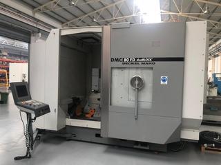 DMG DMC 80 FD doublock, Fräsmaschine Bj.  2005-6