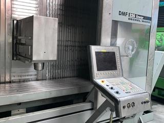 DMG DMF 220 linear 4ax, Fräsmaschine Bj.  2002-2
