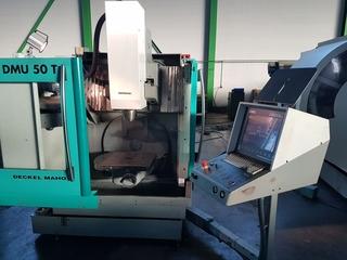DMG DMU 50T (3+2), Fräsmaschine Bj.  1998-0
