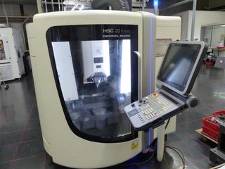 DMG HSC 20 Linear, Fräsmaschine Bj.  2009-0