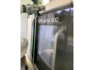 Drehmaschine DMG CTX alpha 500 / Automatisation WH3-3