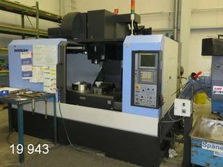 Fräsmaschine Doosan DNM 650-4