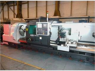 Drehmaschine Hwacheon Mega 100 Heavy duty semi CNC lathe x 4000-0