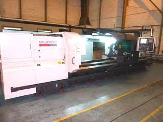 Drehmaschine Hwacheon Mega 100 Heavy duty semi CNC lathe x 4000-1