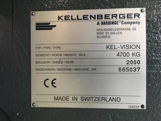 Schleifmaschine Kellenberger Kel-vision URS 125 x 430 generalüberholt/revised-5