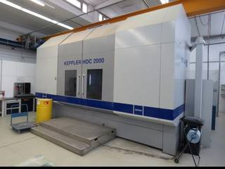 Fräsmaschine Keppler HDC 2000-0
