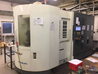 Fräsmaschine Kitamura HX 400xif-1
