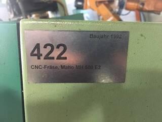 Fräsmaschine Maho MH 500 E 2-2