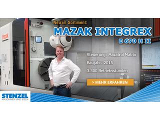 Drehmaschine Mazak Integrex E 670 H II - 4000-13
