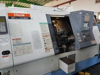 Drehmaschine Mazak SQT 200 MSY-1