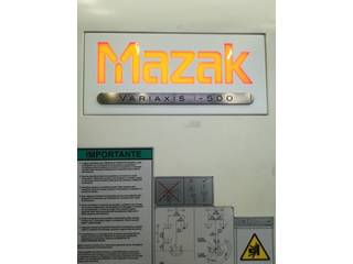 Mazak Variaxis i - 500, Fräsmaschine Bj.  2014-1