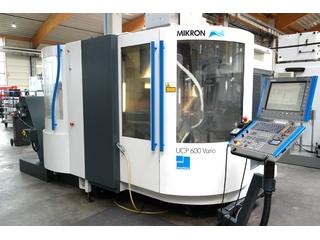 Mikron UCP 600 Vario, Fräsmaschine Bj.  2006-0