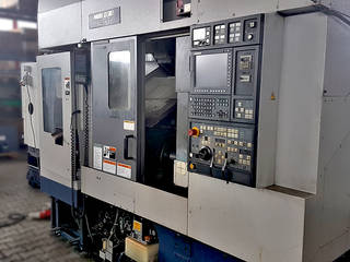 Drehmaschine Mori Seiki CL 153 M ladeportal/gentry-2