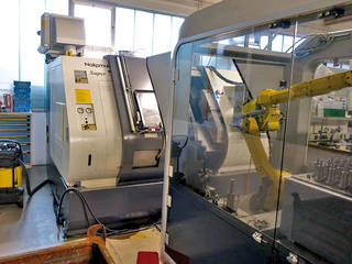 Drehmaschine Nakamura Super NTM 3 Roboter-6