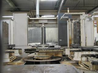 Okuma MA 600 HB, Fräsmaschine Bj.  2008-2