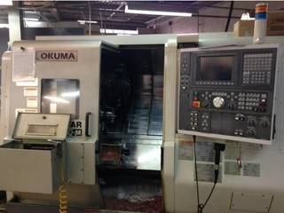 Drehmaschine Okuma Twin Star LT 200 M-0