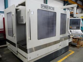 Spinner MVC 1000, Fräsmaschine Bj.  2011-5