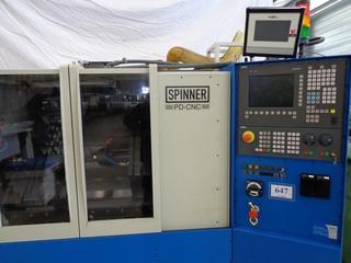 Drehmaschine Spinner PD CNC-5