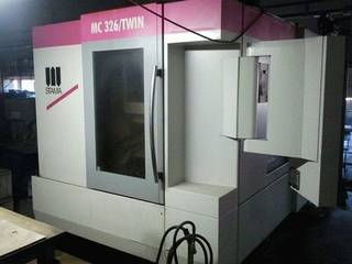 Stama MC 326 Twin 2 x schwenkrundt., Fräsmaschine Bj.  2013-0