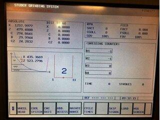 Schleifmaschine Studer S 31-8