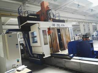 TOS KURIM FRF 200 3.000 x 2.250 x 1.250 Portalfräsmaschinen-8