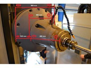 Union BFT 110 - 8 Bettfräsmaschinen, Bohrwerke-3
