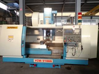 YCM Supermax V 168 A, Fräsmaschine Bj.  1998-3