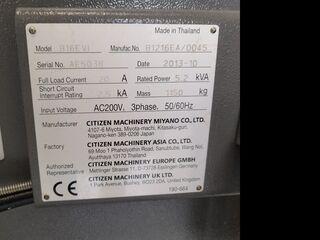 Drehmaschine Citizen B16 EVI-2