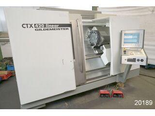 Drehmaschine DMG CTX 420 linear-1