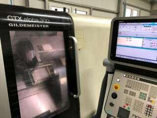 Drehmaschine DMG CTX alpha 300-0