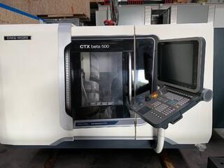 Drehmaschine DMG CTX beta 500 V4-5