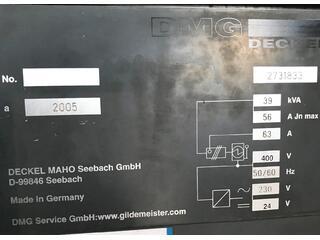 DMG DMC 104 V Linear, Fräsmaschine Bj.  2005-9