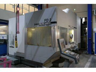 DMG DMU 125 FD 2 duoblock , Fräsmaschine Bj.  2007-0