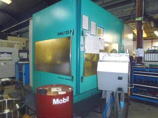 DMG DMU 125 P hidyn, Fräsmaschine Bj.  1999-0