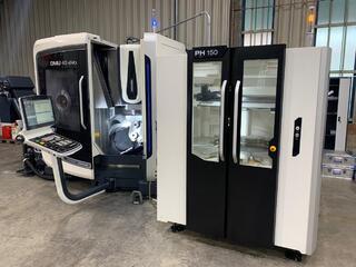 Fräsmaschine DMG DMU 40 evo & PH 150-0