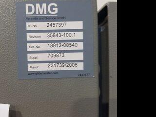 DMG DMU 80 P duoBlock 18.sp 60 Wz, Fräsmaschine Bj.  2006-8