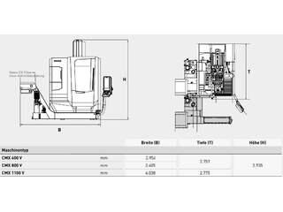 DMG MORI ecoMill 1100 V, Fräsmaschine Bj.  2015-6