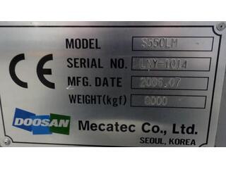 Drehmaschine Doosan S 550 LM-9