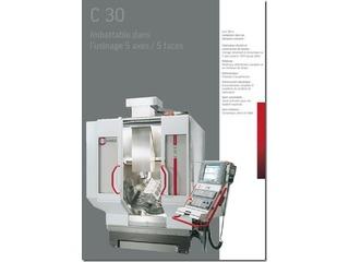 Fräsmaschine Hermle C 30 U + Roboter Erowa-0