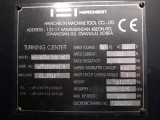 Drehmaschine Hwacheon Hi Tech 700 MC-8
