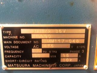 Matsuura MAM 72 35V, Fräsmaschine Bj.  2014-10