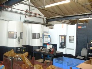 Fräsmaschine Mazak HCN 5000 Palletech-0