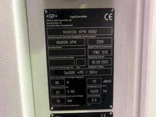 Fräsmaschine Mikron HPM 800 U-13